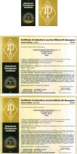 Сертификаты атмстил atmsteel